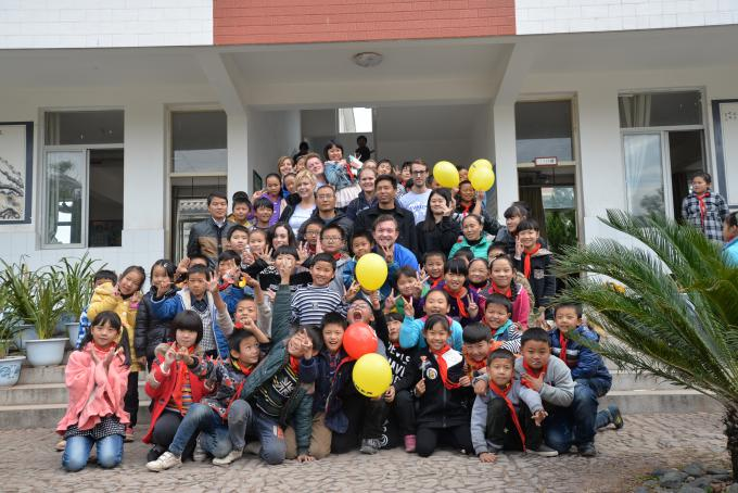 Employees from IKEA Netherland visited Gucheng Primary School, which is one of five project schools of the Save the Children's inclusive education project in Weishan County, Yunnan province. Funded by IKEA Foundation in the past three years, Save the Children has carried out the project.</body></html>